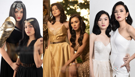 Relive that Golden Glam: Kadenang Ginto's Daniela, Romina, Marga and Cassie in their chic best