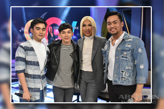 PHOTOS: Lucas Garcia, Enzo Almario and Matty Juniosa on Gandang Gabi Vice