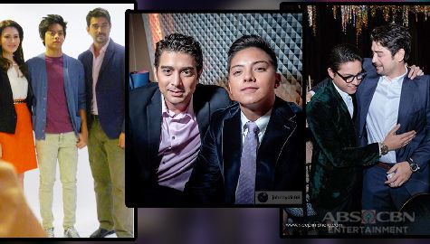 IN PHOTOS: Daniel Padilla and Ian Veneracion's friendship goals!