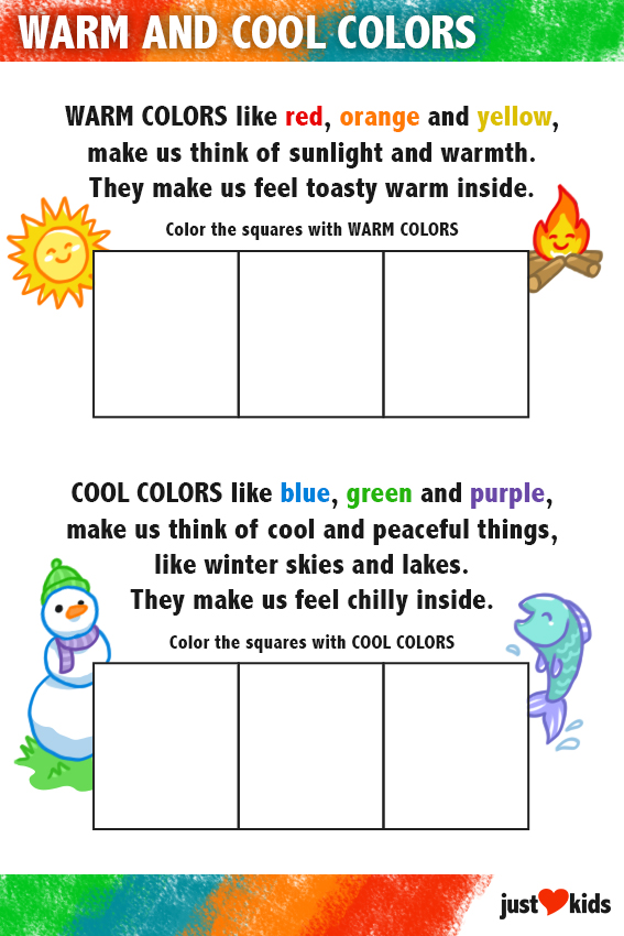 Warm and Cool Colors Art Jam 1