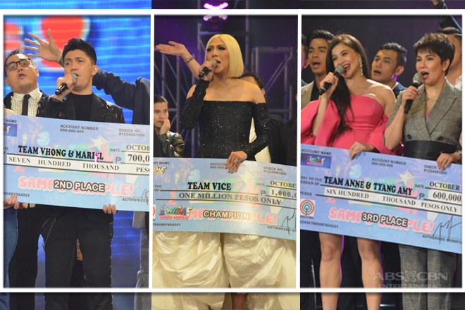 IN PHOTOS: It's Showtime Sampu Sample October 26