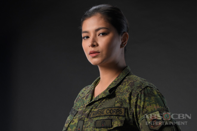 Angel Locsin as Rhian Bonifacio in The General's Daughter