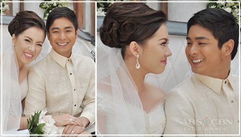 Daniel and Katarina Wedding in Walang Hanggan (2012)