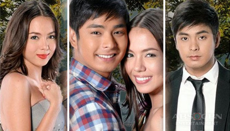 Coco Martin and Julia Montes in Walang Hanggan
