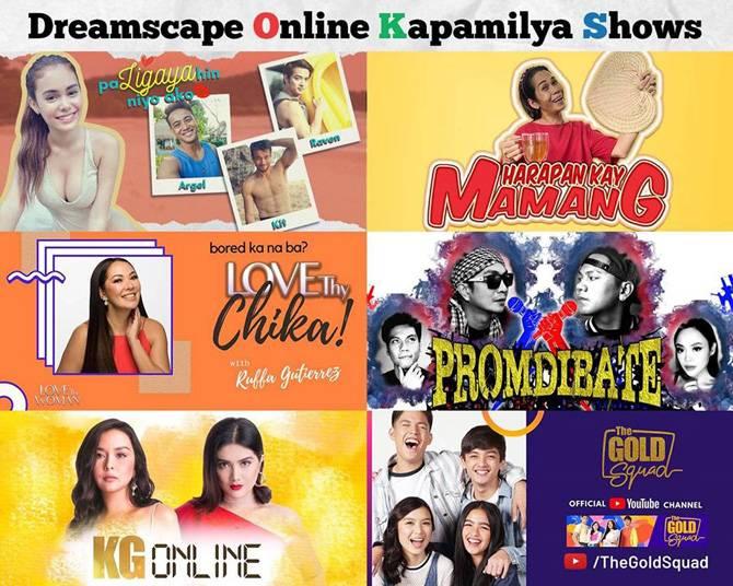Ivana Ruffa Dimples Beauty Pokwang The Gold Squad makakasama sa sari saring Online Kapamilya Shows 1