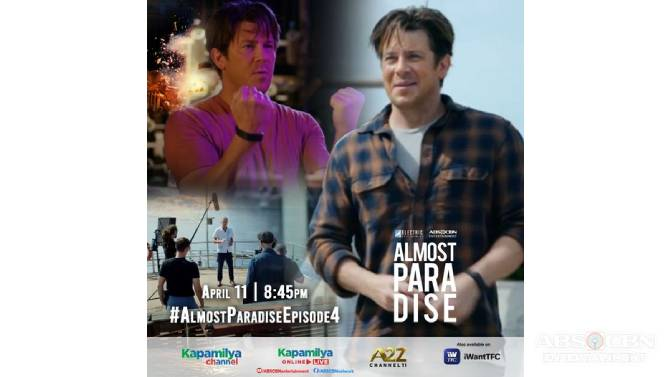 Dan Villegas directs next episode of Almost Paradise  1