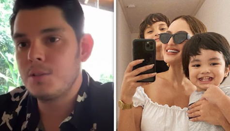 Richard shares sweet lockdown discoveries about wife, Sarah Lahbati