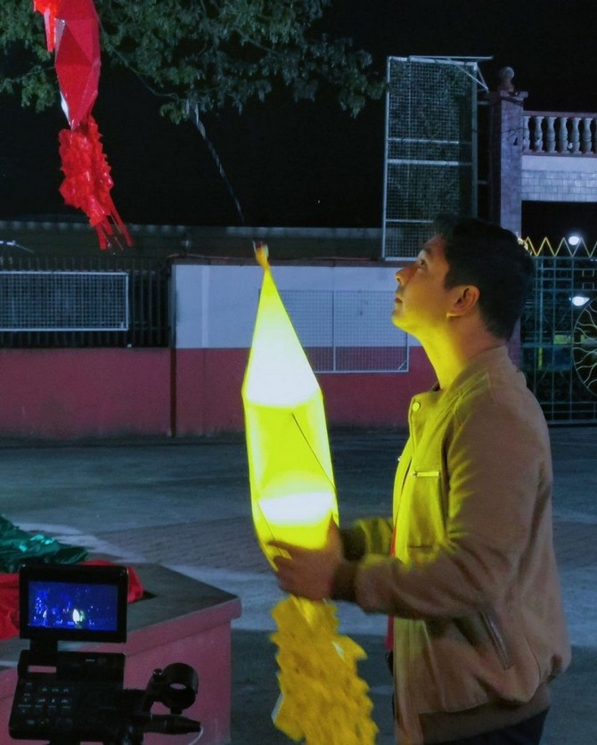 LOOK Coco Martin s behind the scenes moments in ABS CBN Christmas ID 2020 shoot 6