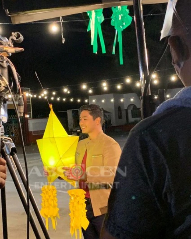 LOOK Coco Martin s behind the scenes moments in ABS CBN Christmas ID 2020 shoot 7