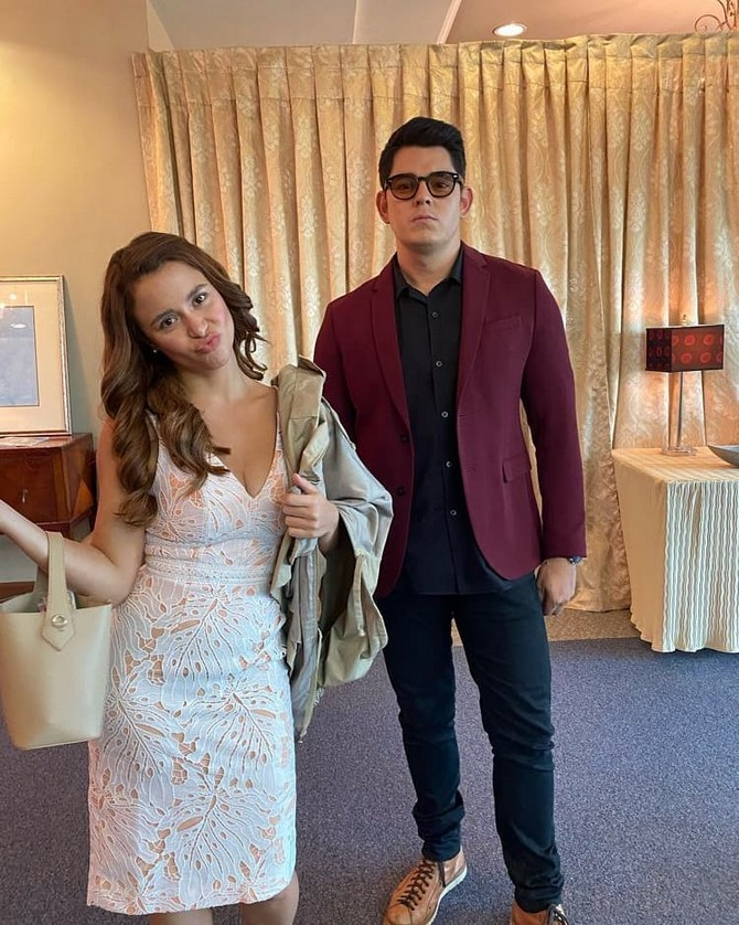 FPJ s Ang Probinsyano Richard and Yassi make a stylish pair in these behind the scene OOTD photos 5