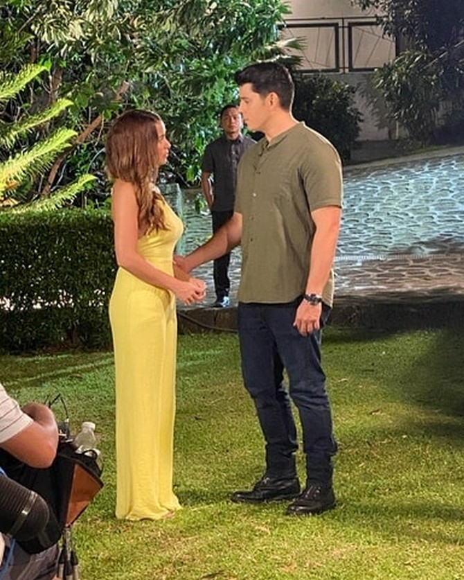 FPJ s Ang Probinsyano Richard and Yassi make a stylish pair in these behind the scene OOTD photos 6