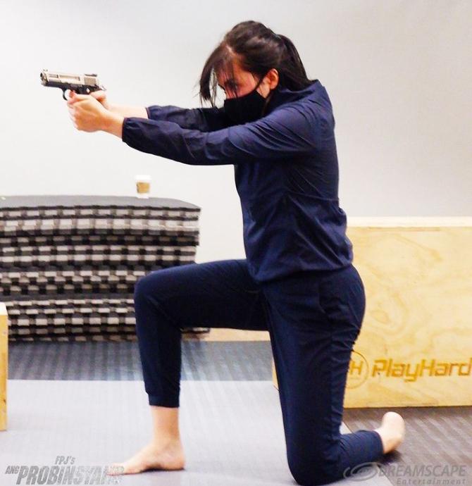 Watch Julia s impressive stunts for FPJ s Ang Probinsyano fight scenes 4