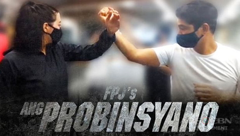 Coco Martin trains Julia Montes for fight scenes in upcoming FPJ's Ang Probinsyano stint