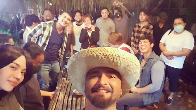 Behind-the-scenes: Julia Montes and new FPJ's Ang Probinsyano stars collect happy times on set