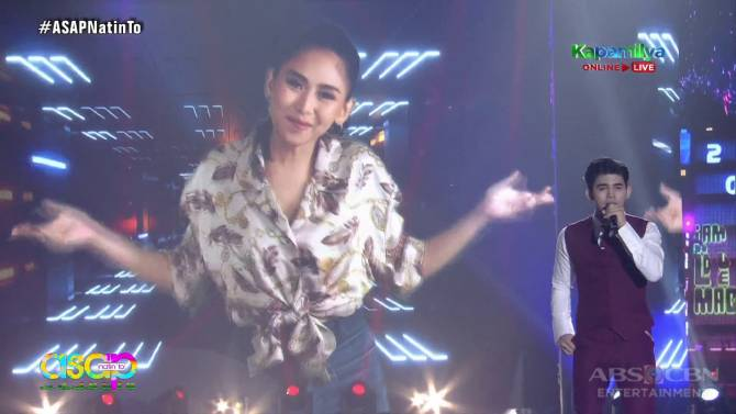 ASAP Natin To Sarah G Inigo Pascual collab for powerful funky amazing rendition of BTS s Dynamite  4