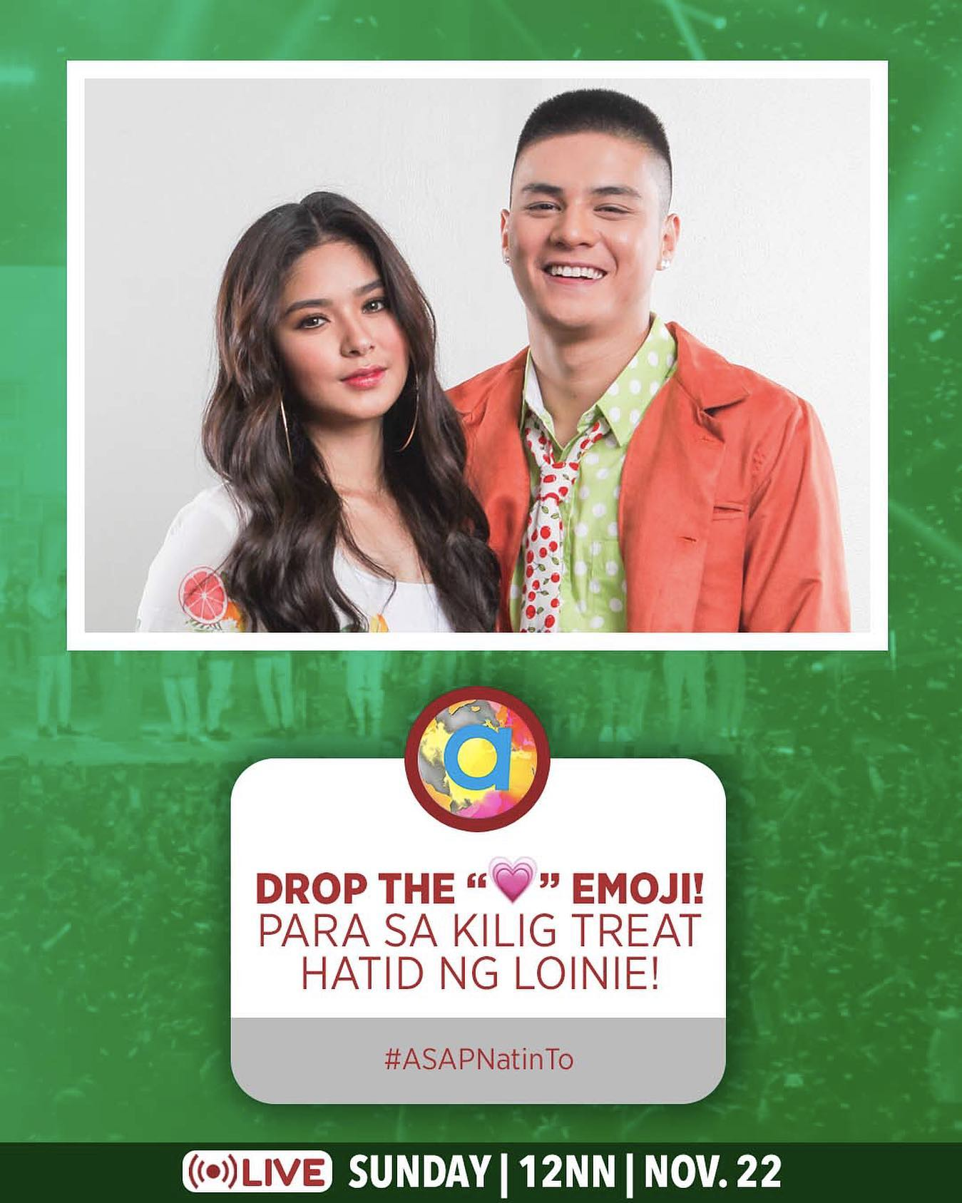 ASAP Natin To spreads the positivity with world class performances this Sunday 2