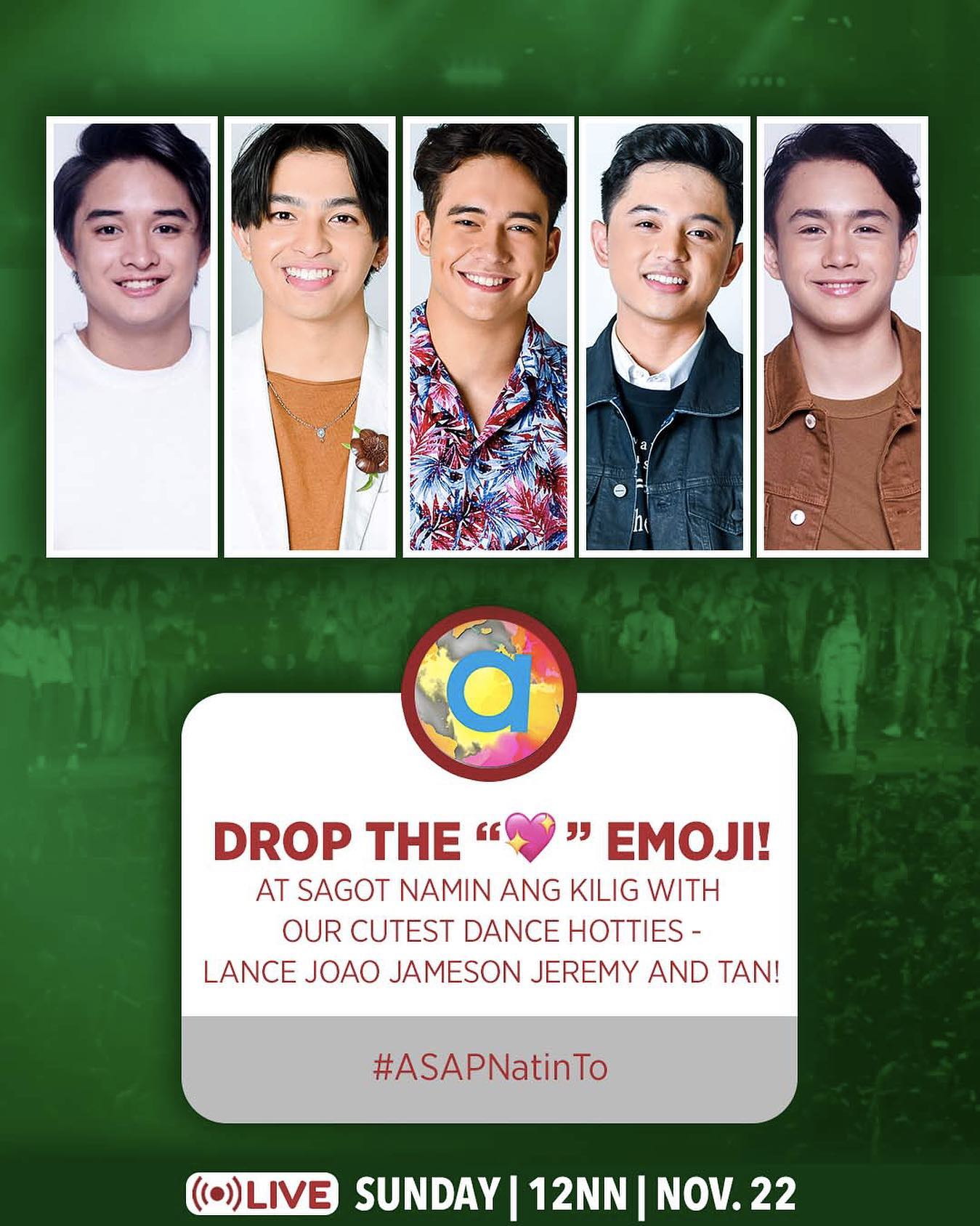 ASAP Natin To spreads the positivity with world class performances this Sunday 3