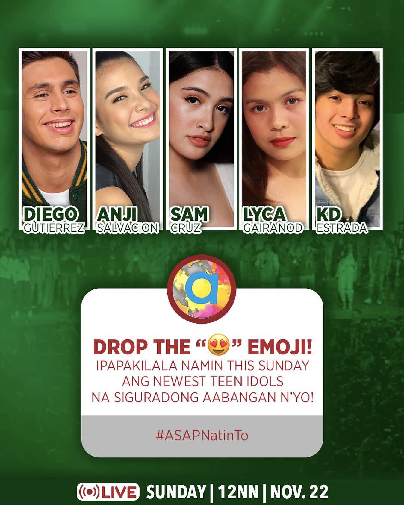 ASAP Natin To spreads the positivity with world class performances this Sunday 4