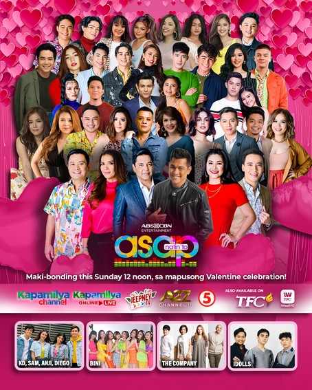 ASAP Natin To shares the love with world class acts on Valentine s Day 1