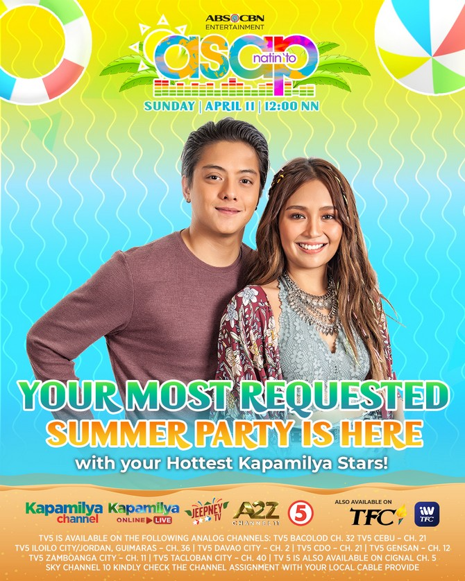 Feel the summer vibe with more best of the best performances on ASAP Natin To 1