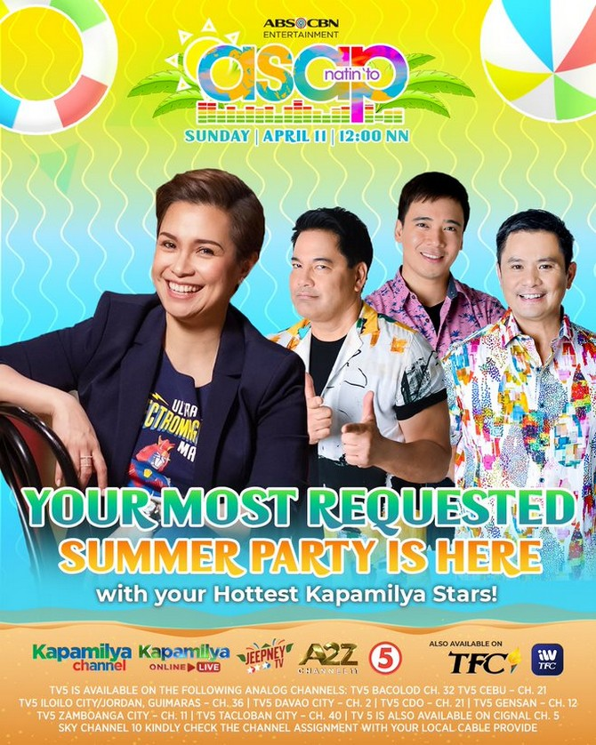 Feel the summer vibe with more best of the best performances on ASAP Natin To 2