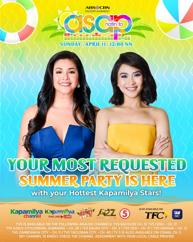 Feel the summer vibe with more best of the best performances on ASAP Natin To 3