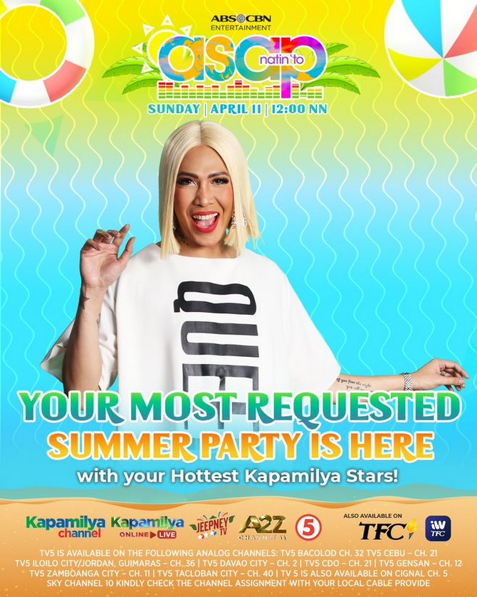 Feel the summer vibe with more best of the best performances on ASAP Natin To 4
