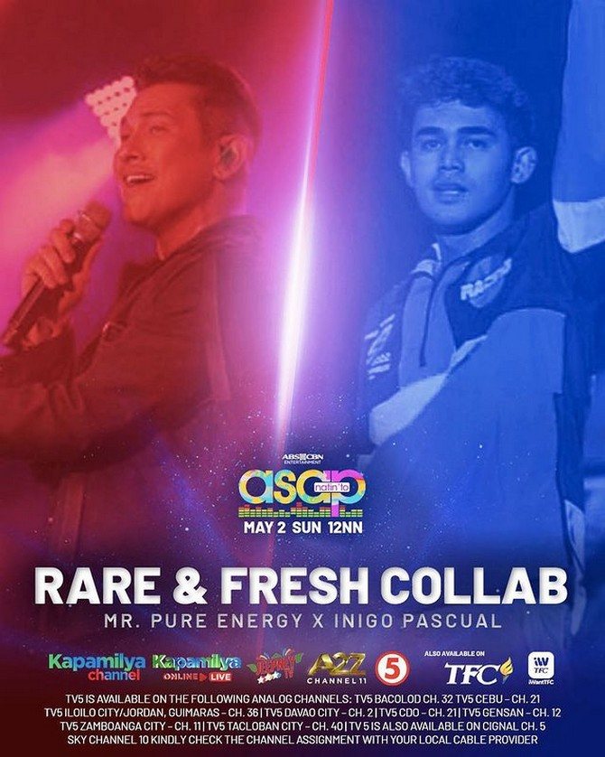 Fresh dance and musical collabs heat up ASAP Natin To 3