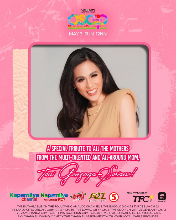 ASAP Natin To treats moms to a musical spectacle this Sunday 1