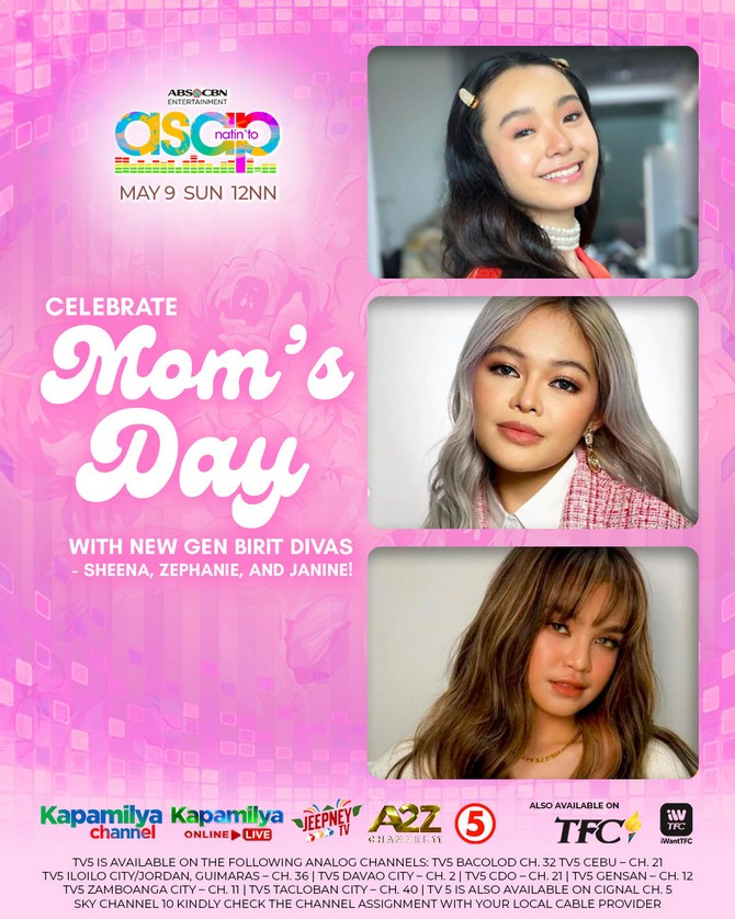 ASAP Natin To treats moms to a musical spectacle this Sunday 2
