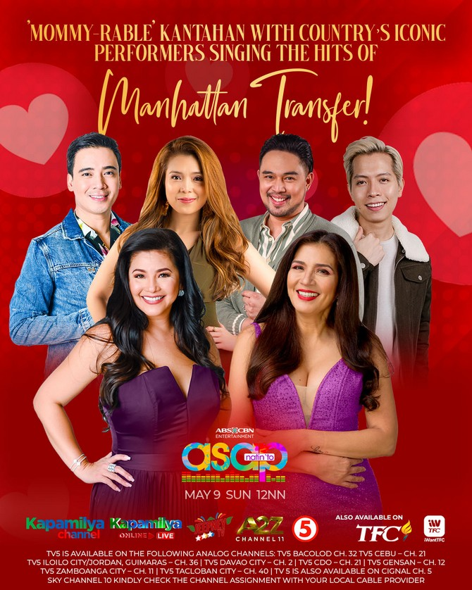 ASAP Natin To treats moms to a musical spectacle this Sunday 5