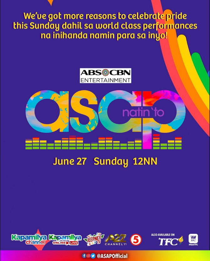 ASAP Natin To celebrates Pride month with colorful performances 1
