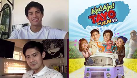 "Robi Domingo and Donny Pangilinan talk about travel and new reality show ""Aja! Aja! Tayo Sa Jeju!"""