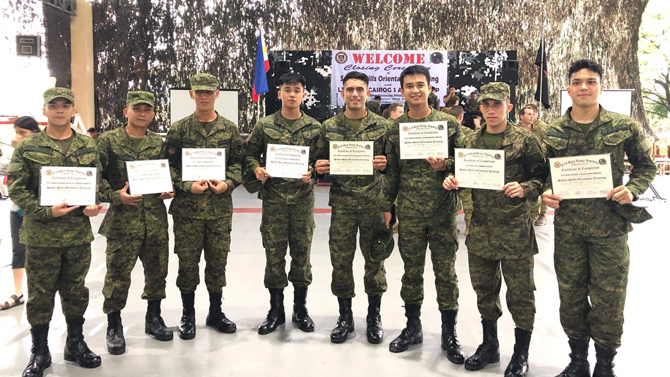 Kapamilya celebrities who have A Soldier s Heart as commissioned military reservists 1