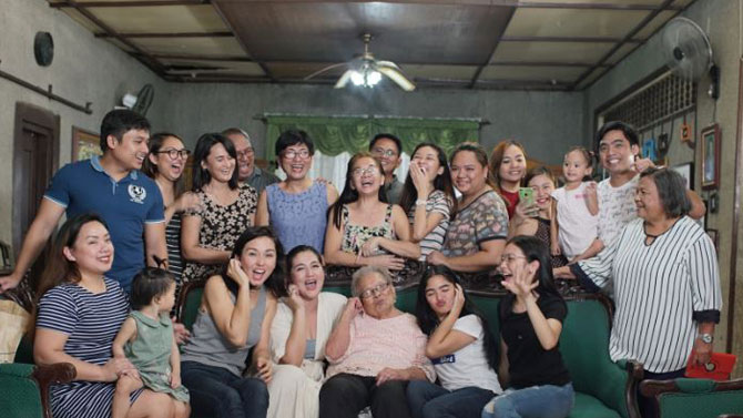 ABS CBN s feature on 101 year old fan wins award in Singapore 2