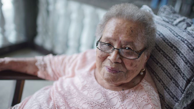 ABS CBN s feature on 101 year old fan wins award in Singapore 1