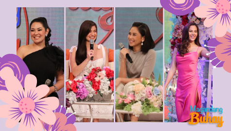 9 Kapamilya female celebrities share personal stories of empowerment on Magandang Buhay