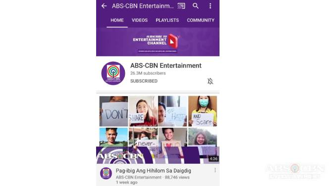 ABS CBN s Entertainment digital universe brings hope inspiration empowerment to tens of millions of Kapamilyas worldwide 1
