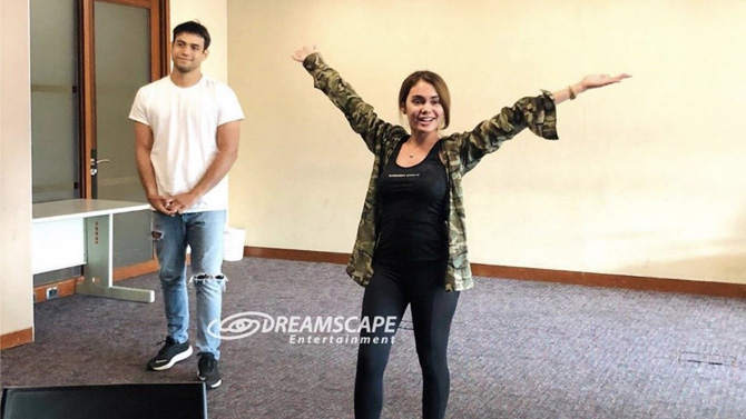 IN PHOTOS Ivana Alawi co actors join workshops to prepare for Ang Lihim Ni Ligaya roles 1