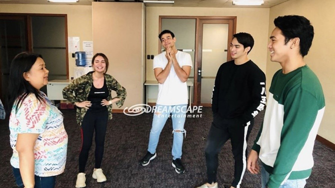 IN PHOTOS Ivana Alawi co actors join workshops to prepare for Ang Lihim Ni Ligaya roles 3