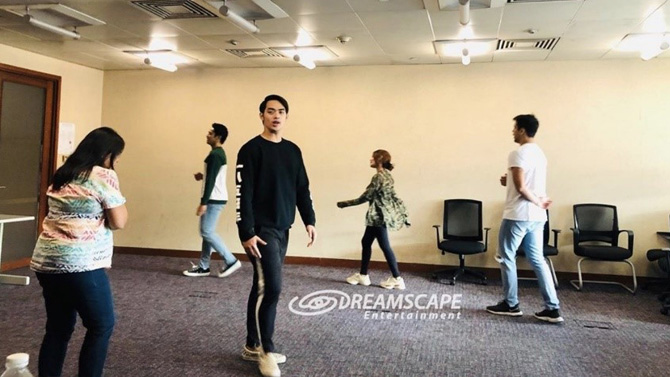 IN PHOTOS Ivana Alawi co actors join workshops to prepare for Ang Lihim Ni Ligaya roles 4
