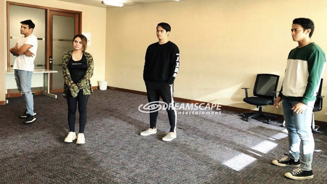 IN PHOTOS Ivana Alawi co actors join workshops to prepare for Ang Lihim Ni Ligaya roles 5