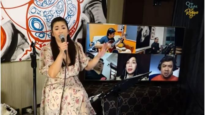 Regine s remarkable digital concert amasses Php4 2 million in one night for Bantay Bata 163 2