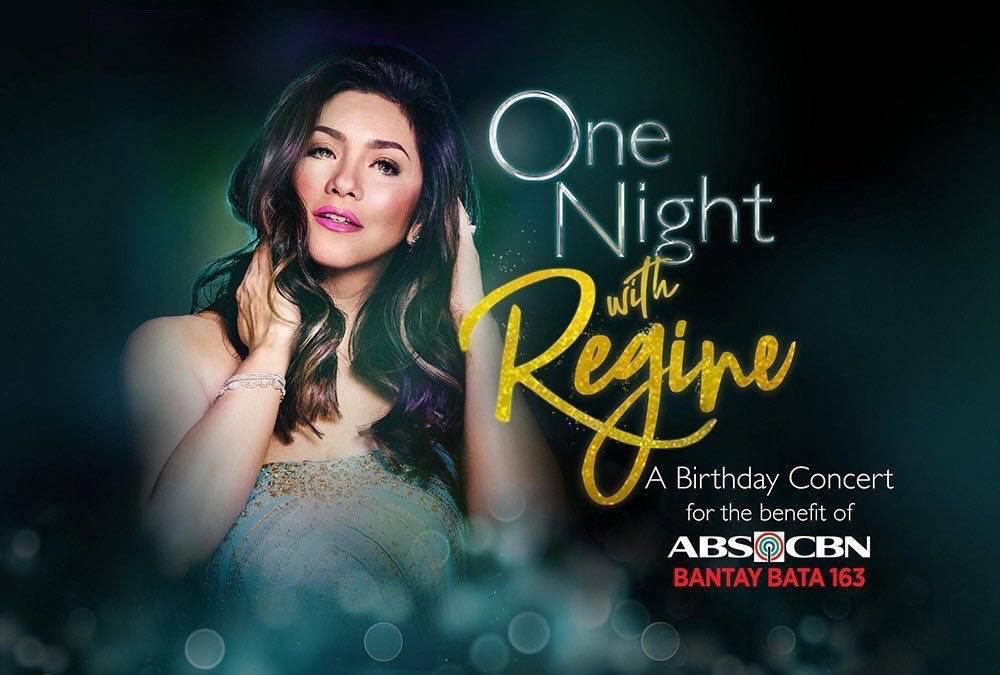 Regine s remarkable digital concert amasses Php4 2 million in one night for Bantay Bata 163 1