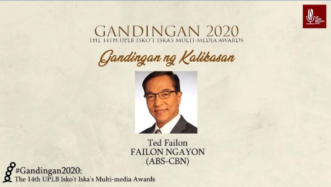 Failon Ngayon wins big in the 14th Gandingan Awards 4