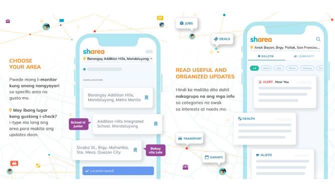 New SHAREA app fosters digital bayanihan among Filipino communities amid pandemic 1