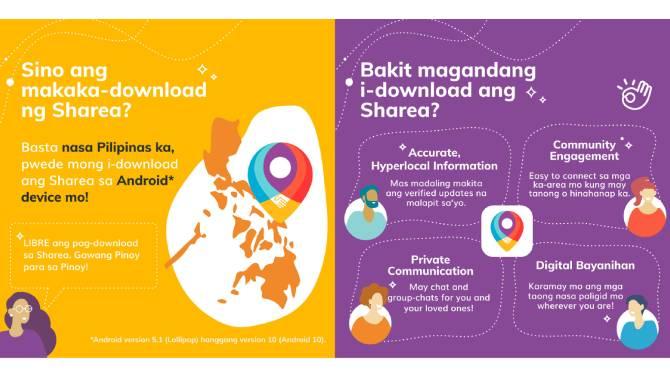 New SHAREA app fosters digital bayanihan among Filipino communities amid pandemic 2