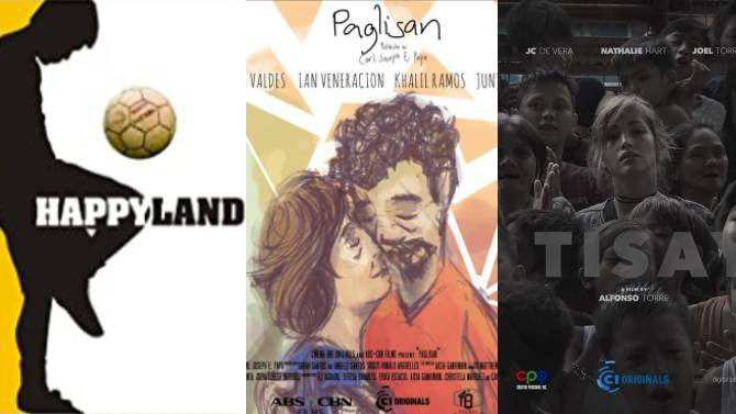15 free fims to watch on Star Cinema Cinema One Youtube channels via Super Stream 4