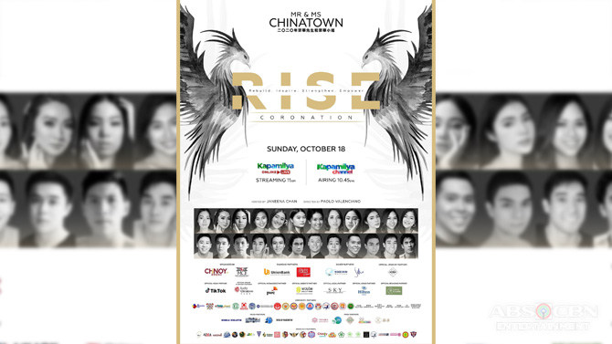 Mr and Ms Chinatown Philippines 2020 airs on Kapamilya Channel and Kapamilya Online Live 1