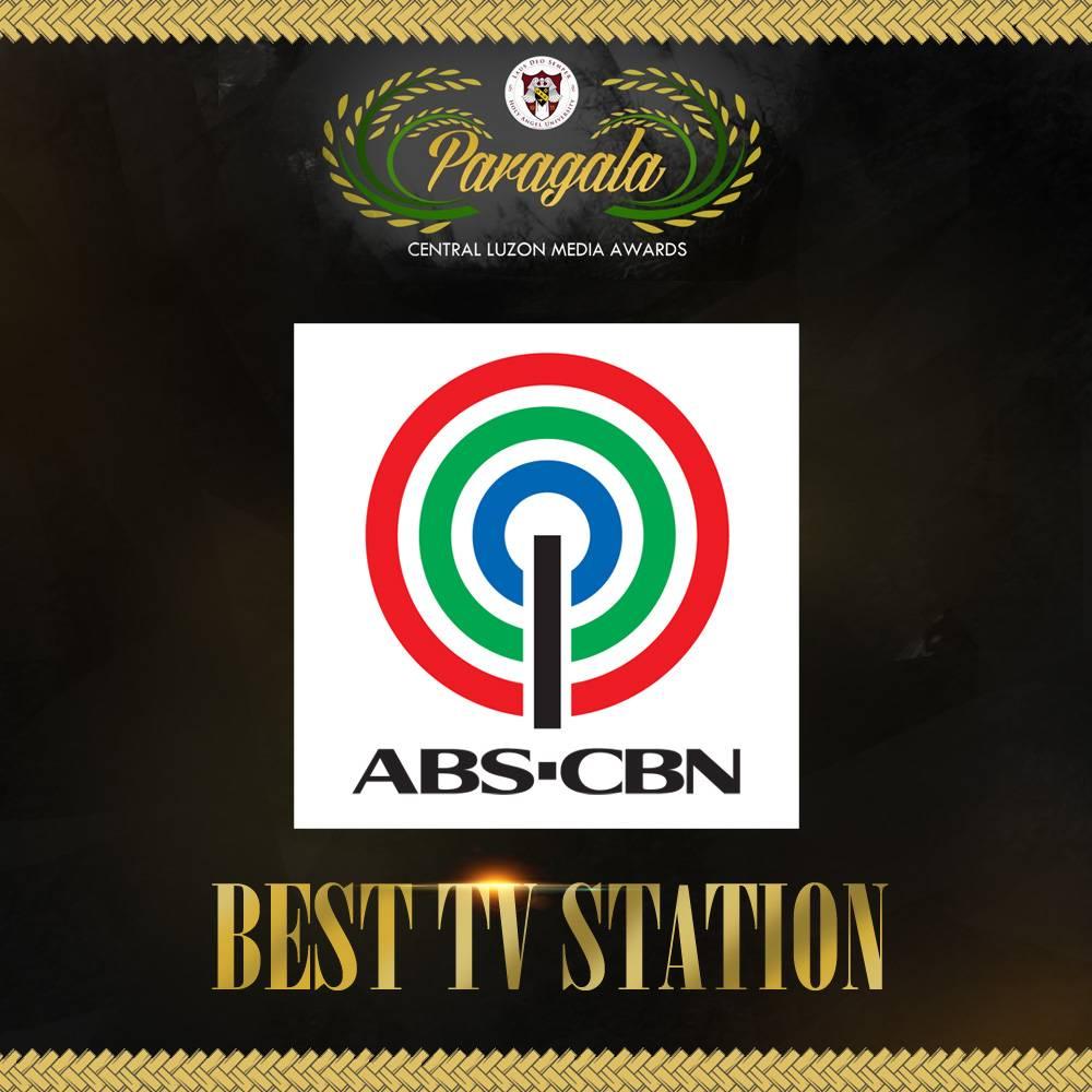 ABS CBN Best TV Station sa ika pitong pagkakataon sa Paragala Central Luzon Media Awards 1